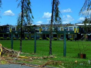 Some schools still remain closed weeks after the cyclone due to structural damage